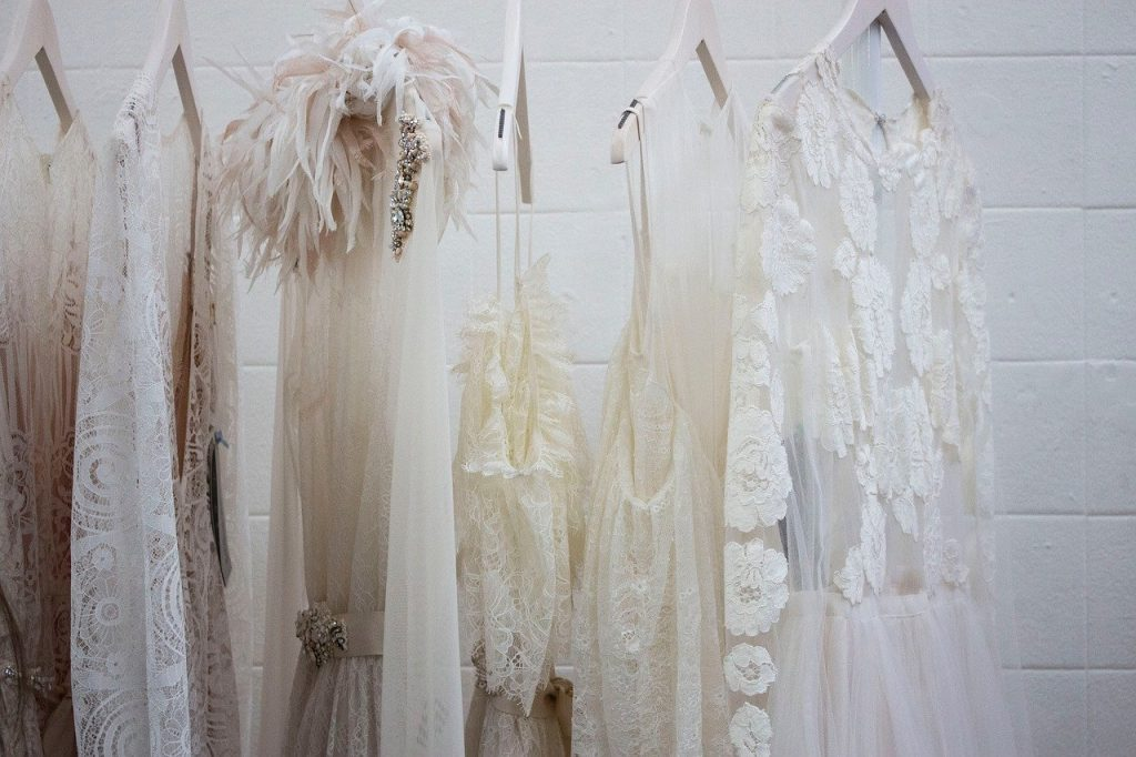 dress, white, wardrobe